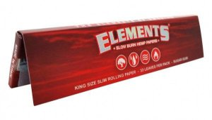 ELEMENTS KING SIZE RED