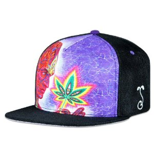 ALEX GRAY CANNABIS SUTRA BLACK SNAPBACK