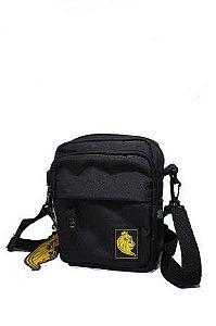 Shoulder Bag Puff Preta
