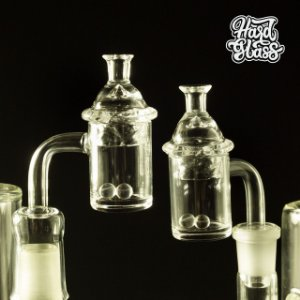 Nail Hard Glass Quartz Banger +Carbcap e Pérolas M18