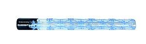 Piteira de Vidro Zeca Geladinho Geometria Gelada Azul