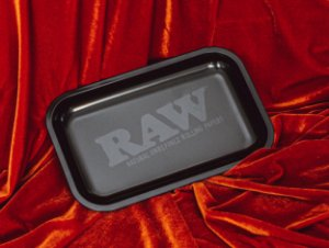 Tray Raw Black Matte