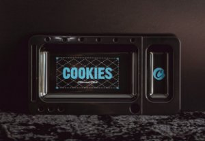 Cookies Tray Black