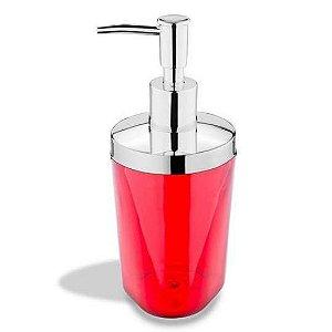 Porta Sabonete Liquido Atria Vermelho Brinox