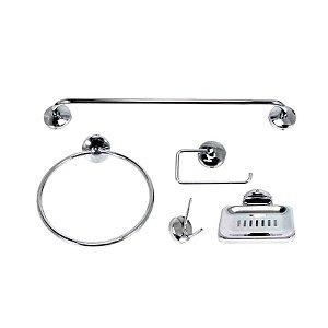 Kit Acessórios para Banheiro Smart Standard 5 Peças Jackwal