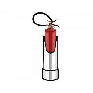 Suporte C/ Base P/ Extintor Diâm 20X50,2Cm 3061/203 Brinox