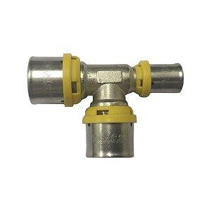Te Redução para Tubo Pex Gás 26 X 26 X 16 mm Tudogás