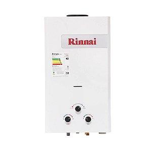 Aquecedor a Gás GN Rinnai REU M15 CFS BNE 15 Litros
