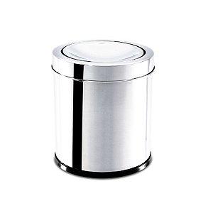 Lixeira Inox Com Tampa Basculante 3,2 Litros - Brinox