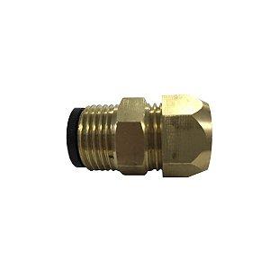 Adaptador 1/2 EXT x AR para mangueira de gás Tudogás