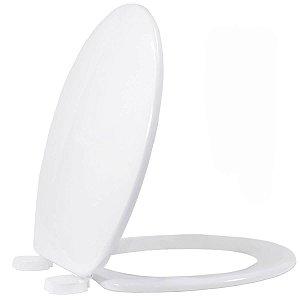 Assento Oval em Polipropilino Apolo Branco Tupan