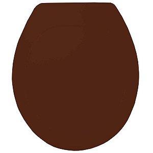 Assento Oval Premium Marrom/Caramelo Tupan
