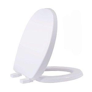Assento Sanitário Oval Solution Branco Tupan