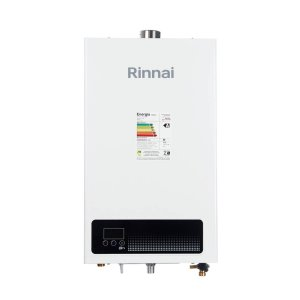 Aquecedor a Gás GN Rinnai REU E15 FEHB 15 Litros Bivolt