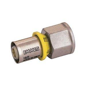 Conector Fêmea 1/2 X 16 mm Emmeti