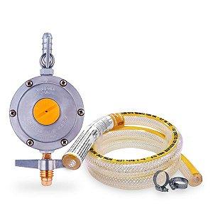Kit de Instalação de Gás para Fogão Gr Simples 0,80 Metros