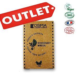OUTLET - Desodorante Cristal Mineral - Original ECO 75g