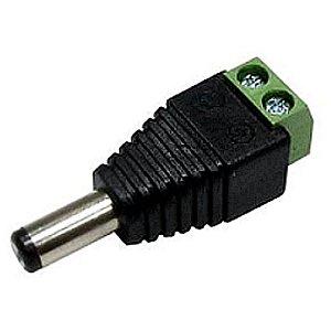 Conector Adaptador Plug P4 Macho com Borne