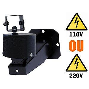 Mini Panorizador Motor Giratorio Externo para Camera de Segurança - 110V ou 220V