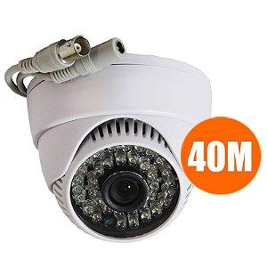 Camera Dome Infravermelho 36leds 800 linhas Ir Cut 2.8mm