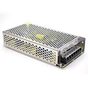 Fonte Chaveada Estabilizada 12VDC 10A 120W para CFTV e Fita Led