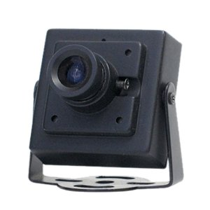 "Mini Camera Ccd Digital 1/3.5"" 1000 Linhas 3,6mm com ajuste focal"