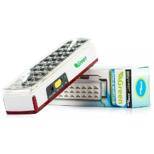 Lâmpada de Emergência LED, 30 Leds, Green, Bivolt - CHIP SCE