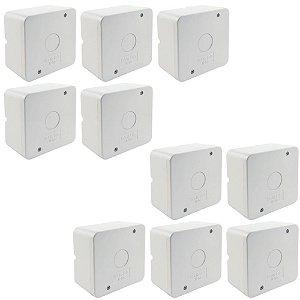 Kit 10 Caixa de Proteção Organizadora para CFTV IP55