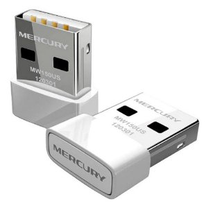 Adaptador Wireless Usb Nano Mw150us Mercusys 150Mbps 802.11n
