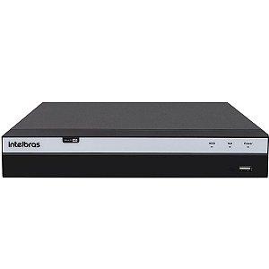 Dvr 8 Canais Intelbras Full HD 1080p 4MP Lite MHDX 3108 - 5 em 1 HDCVI, AHD, HDTVI, Analógico e IP