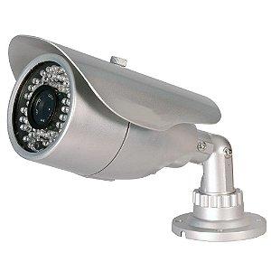 Camera Infravermelho Ccd 1/3 600 Linhas Bullet 48leds Ir 40m