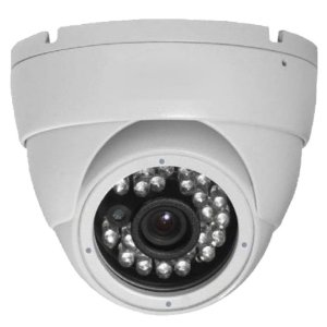 Camera Dome Ip Full HD 1080p POE IR 25m Lente 3,6mm Onvif