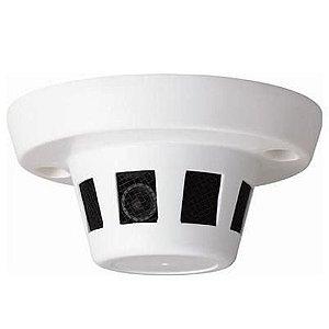 Camera Espiã Camuflada Sensor Detector de Fumaça Ccd Sony