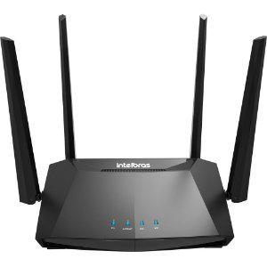 Roteador Wireless Intelbras Gigabit 10/100/1000 Action RG 1200 MiMo Smart Dual Band AC