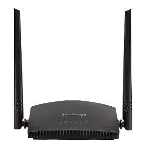 Roteador Wireless Intelbras 2 Antenas 5dBi 300mbps, Ipv6, MiMo RF 301K