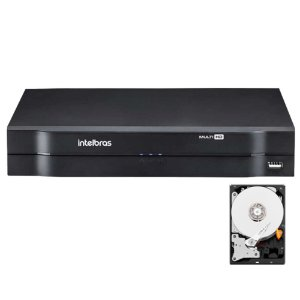 Dvr Intelbras 8 canais Mhdx 1108 Multi HD + HD 3TB