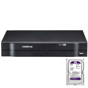 Dvr Intelbras 8 canais Mhdx 1108 Multi HD + HD 3TB Purple