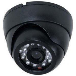 Camera Dome Ccd 1/4 Sony 700 Linhas 26 Leds Infra 25m 3,6mm