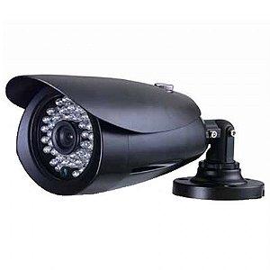 Camera Infra Ccd 1/3 Sony 700l Bullet 48 Leds IR 40M Preta