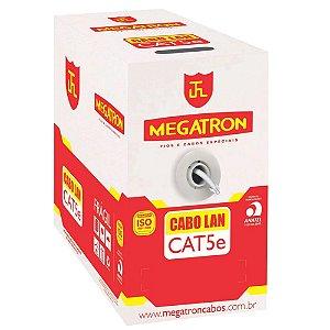 Cabo Rede Lan Utp Cat5e 4 Pares Branco Anatel 305m - Megatron