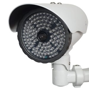 Camera Super Infra Ccd 1/3 Sony Ir 100m 117 leds lente 8mm