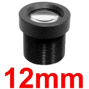 Mini Lente 12mm Para Mini Câmera e Micro Câmera - Lente Cftv
