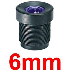 Mini Lente 6mm Para Mini Câmera e Micro Câmera - Lente Cftv