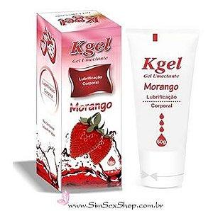 Lubrificante Aromático Morango K-Gel 60g