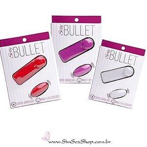 Bullet Cápsula Vibratória Multivelocidade