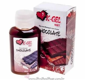 Óleo para massagem K-Gel Hot chocolate 30 ml