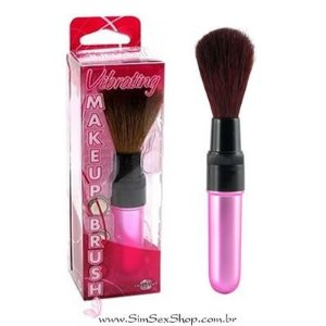 Vibrador Makeup Brush multivelocidade Pipedream