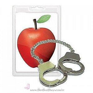 Algemas de dedos em metal niquelado Adão & Eva
