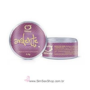 Ardente creme excitante feminino Hot aquece 3,5 g