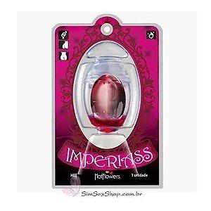 Cápsula Imperiass Hot bolinha explosiva de gel excitante para uso anal e vaginal que aquece
